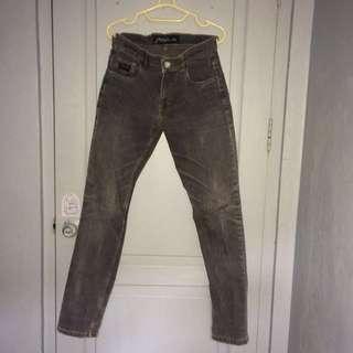 Peter Says Denim Dark Grey Overwashed Jeans