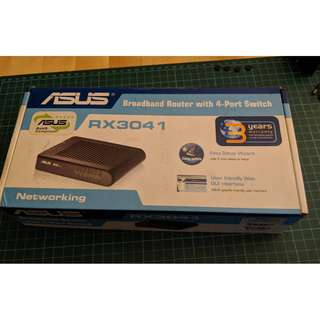 Asus Broadband Router w 4Port Switch RX3041