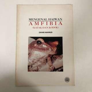 1992 Amfibia Book ( Amphibians )