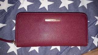 NEW PRICE Bershka dompet maroon
