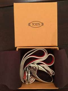 ORIGINAL Tod's Leather Strap with Shoe Charm