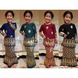Mini Kurung Songket (Kids)