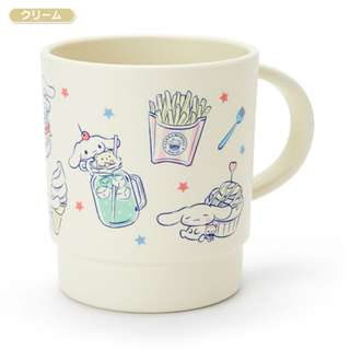 [PO] Sanrio Japan Cinnamoroll Stacking Cup Cream Happy Days
