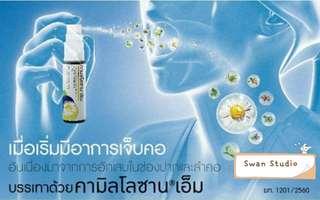 🇹🇭泰國🇹🇭 Kamillosan M 洋甘菊口腔噴劑 (15ml) 店主推薦❗❗❗