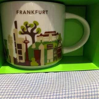 Starbucks YAH mug Frankfurt