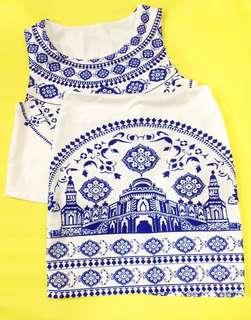 Greek styled terno