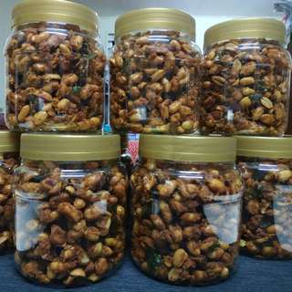 Kacang Berempah Rangup - Spicy Crunchy Nuts