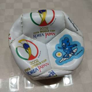 2002 Fifa World Cup Memorabilia/Collectibles (ultra mini football - display item)