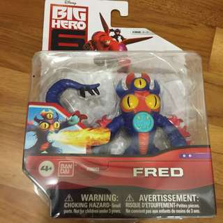 Big hero figurine collectible - Fred
