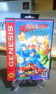 Sega Genesis/MD MegaMan The Willy Wars