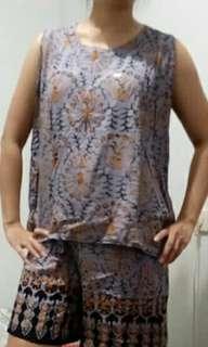 Setelan Batik Jumbo