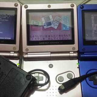 Gba Sp Ags-001 三台&充電器+1