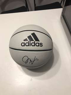 James Harden's signature basketball