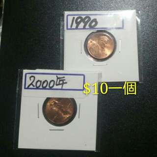 【$20一個/平售$10一個】美金硬幣(靚品相)