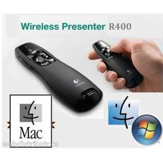 .Clicker wireless presenter for presentation powerpoint Logitech R400