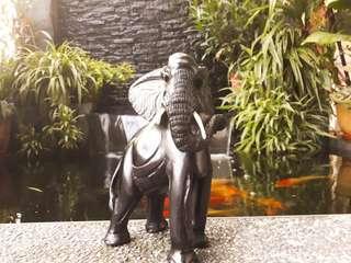 Kenyan Elephant made of Jacaranda Wood
