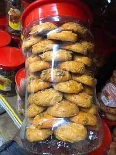 Kuih Raya Oats Cookies