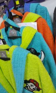 Secaneta brand high quality kid bathrobe