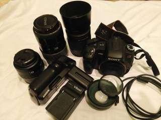 DSLR camera Sony a200