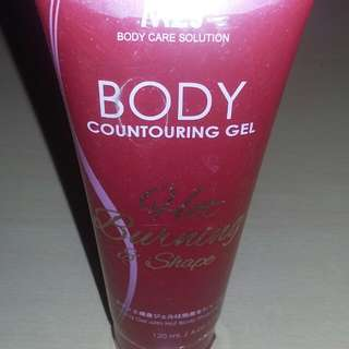 Body contouring gel from M2J Hot burnig Shape. Lepas bungkus aja, new y