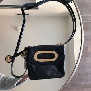 Michael Kors Leather Black Bag