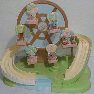 Sylvanian Families Baby Nursery Play Park