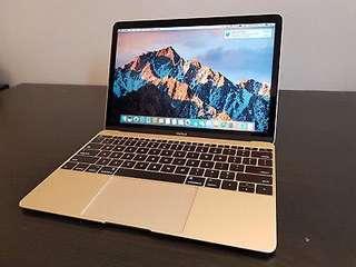 MacBook 12 2015 512 SSD 8GB Ram