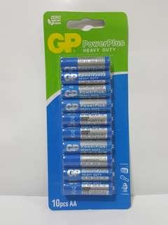 10 GP battery AA