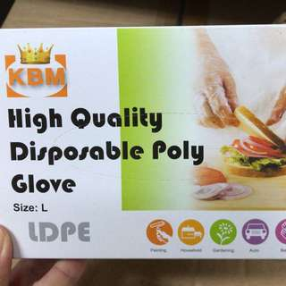 High Quality Disposable Gloves LDPE
