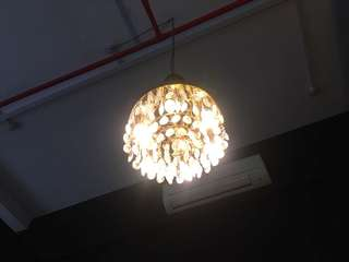 Used chandeliers from $50-$299. SALE