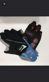 Brand new!  LYCCO Cycling half finger glove with Gel pad