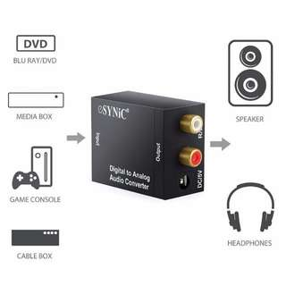 .Digital to Analog Audio Converter