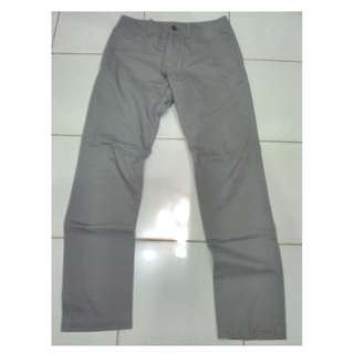 OLD NAVY Grey Chino Celana