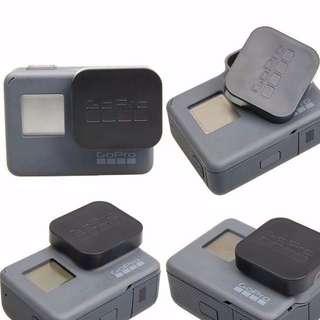 .GoPro 6 Hero 6 Hero 5 Accessories Lens Cap Cover caps Standard Protector With Logo For Go pro Hero 6 Hero 5 Black Sports Camera