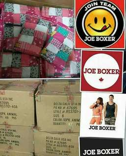 Joe Boxer Panties 100% cotton ( Direct from U.S.) Resellers are welcome