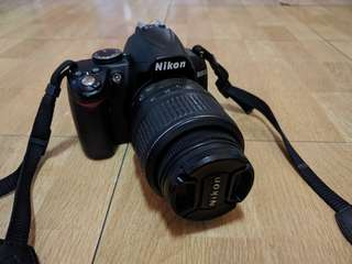 NIKON D3000 W/ ACCESSORIES: a perfect camera for beginners