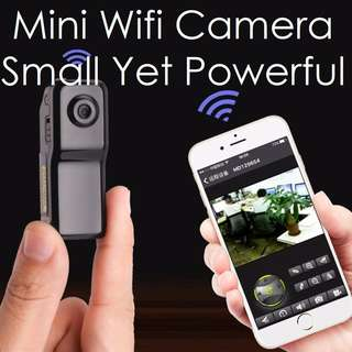 .Mini Wifi IP Camera DV Recorder Discreet Recording Android iOS Camcorder Video Candid Pinhole Cam
