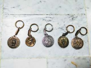 Magical Greek Keychains! Tap for more varieties!