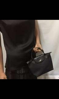 Longchamp small short handle
