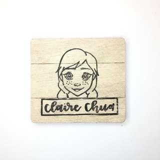 Customised Name Stamp