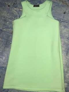 Sleeveless Dress Mint Green