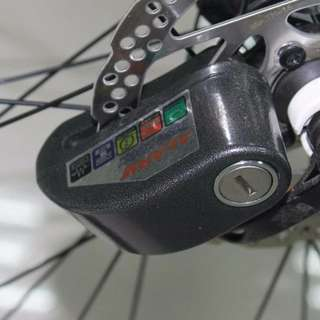 .Disc Brake lock with alarm  110 dB