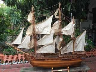 St Geran wooden Ship Model