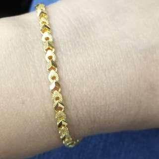 21 karat Saudi gold bracelet
