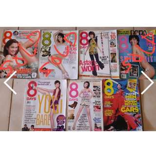 8 Days magazines  - Joanne Peh issues