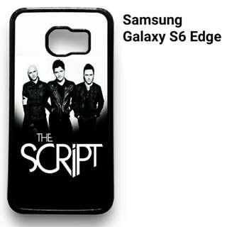 The Script Samsung Galaxy S6 Edge 2D(Black) Custom Hard Case