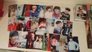 Seventeen Hoshi photocards kpop