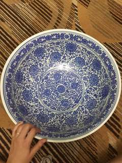 Big Porcelain Bowl Mangkuk Porselin China
