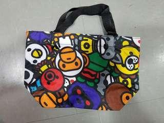 Bape Milo Baby 飯盒袋 手挽袋~日本雜誌附錄袋