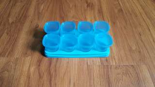 Baby Food Container Blue